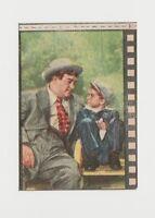 Lou Costello circa 1950 Nannina  Trading Card - Film Frame Design AC#7 Italy E4