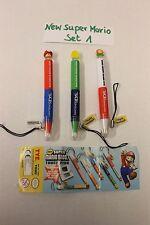 NEW Super Mario Bros. DS-Stifte / DS Pens SET1