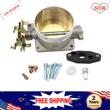 Polished Throttle Body 75MM 75 MM Direct fit for 96-04 Ford Mustang GT 4.6L SOHC