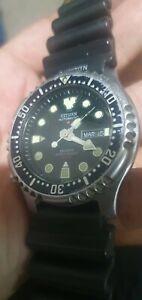 Vintage Citizen Promaster divers watch.vintage citizen automatic divers watch