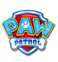 Paw Patrol Logo Edible Image WAFER PAPER Cake Topper Decoration Birthday Cake