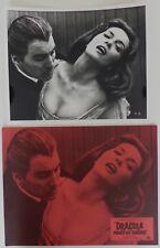Dracula Prince des Ténèbres 1966 - 11 Photos de production d'époque -