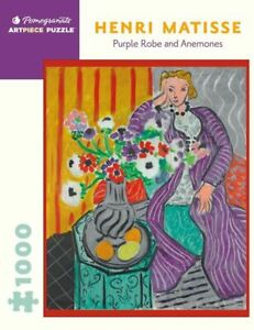 Matisse: Purple Robe & Anemones: 1000 Piece - Jigsaw Puzzle