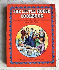 Vintage The LITTLE HOUSE COOKBOOK 1989 Frontier Food Illustrator.Garth Williams