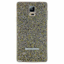 Samsung Swarovski Crystal Battery Cover Sunset Gold for Galaxy Note 4