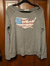 Sequin Shirt America angel + premium