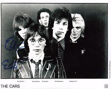 GFA The Cars Guitarist * ELLIOT EASTON * Signed 8x10 Photo PROOF AD2 COA