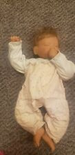"""New listing Blonde Middleton Baby Doll Sleeping Sucking Thumb 19"""" Signed 2119 of 5000"""