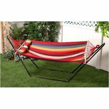 New Bliss Hammocks Bh-404A Oversized Hammock With Spreader Bar And Pillow