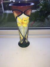 Old Tupton Ware.trumpet Vase