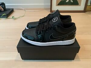 Nike Air Jordan 1 Low Shoes All Star Weekend SE Black/White DD1650-001 Size 8