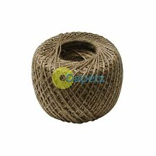 NATURAL STRONG JUTE , 250m BALL OF GARDEN STRING FOR TYING OF PLANT