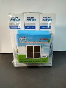 New Golden Ice Pure Refrigerator Ice and Water Filters, 3, RWF1200A LG Kenmore
