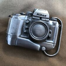 Nikon F4 Limited Edition Pewter BELT BUCKLE #3452 of 5500 for NAS Specialist