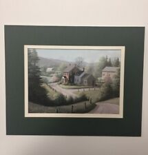"""Rare, Bill Saunders -Spring Garden- Limited Edition Print Size 8""""x 6.5"""". Signed"""