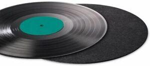 Hama Carbon Fibre Optimising Sound Quality Minimising Vibration Record Mat, 2mm