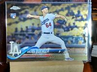 2018 Topps Chrome WALKER BUEHLER Logo ROOKIE CARD RC #71 Los Angeles Dodgers