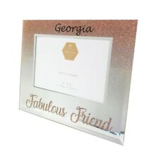 Personalised Friends Frame Girls Women Photo Birthday Gifts Rose Gold Presents