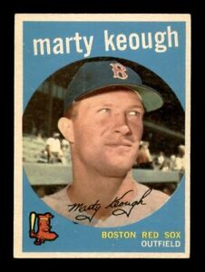 1959 Topps Set Break # 303 Marty Keough EX *OBGcards*