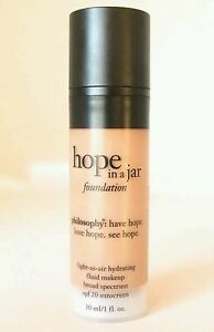 Philosophy Hope in a jar hydrating foundation shade #9 NEW IN BOX