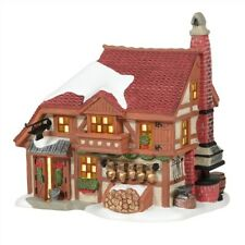 Dept 56 Alpine Village Cowbell Forge #6005374 Brand New 2020 Free Shipping