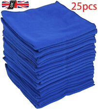 25 x LARGE MICROFIBRE CLEANING AUTO CAR DETAILING SOFT CLOTHS WASH TOWEL DUSTER✔