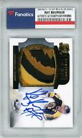 Ray Bourque Boston Bruins 2011-12 Upper Deck Cup Signed Card #LL-RB #20/50 - UD