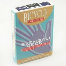 SVENGALI BICYCLE BLUE 808 RIDER BACK DECK OF PLAYING CARDS GAFF MAGIC TRICKS