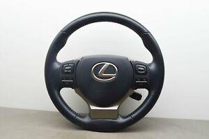 LEXUS IS NX Leather Multi Steering Wheel With SRS OEM 2D1C43216ATW 2015