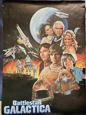 Vintage 1978 Battlestar Galactica Poster