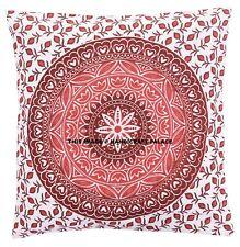 Ombre Mandala Throw Pillow Case Cotton Pillowcase Sofa Cushion Cover Home Decor
