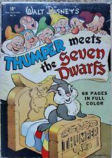 FOUR COLOR #19 (THUMPER MEETS THE SEVEN DWARVES) GD/VG 3.0 DELL 1942/43