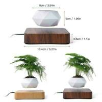 Levitating Air Pot Rotation Planters Magnetic Floating Planter Decor