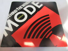 """1987 DEPECHE MODE Behind The Wheel Promo US Pic Sleeve 7"""" Remix Sire NM/VG"""
