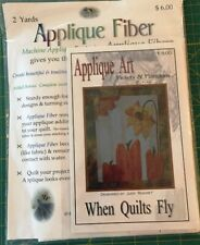 Pickets & Pumpkins Pattern w/ Applique Fiber, bonus pattern Blue Jays in Spring