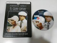 EL GRAN GATSBY DVD ROBERT REDFORD MIA FARROW ESPAÑOL ENGLISH REGION 2