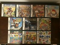 Nintendo DS Games! Zoo Tycoon 2, Spore, Prince of Persia...