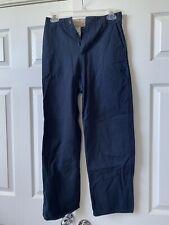 boys Us Polo Assn. Blue khaki Uniform pants size 4