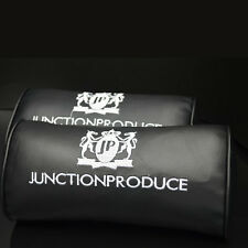 2x JUNCTION PRODUCE VIP Style Car Neck Pillow Head & Neck  Rest Support Cushion