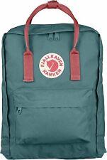 Fjällräven Kanken Rucksack 16L Tagesrucksack Backpack - Frost Green/Peach Pink