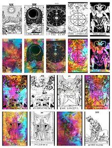 TAROT CARD Wall Hangings Poster ART Tapestry Hippie Bohemian Boho Mandala