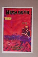 Megadeth Concert Tour Poster 1986 Phoenix AZ The Mason Jar