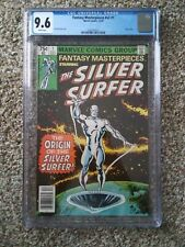 FANTASY MASTERPIECES V2 1 CGC 9.6 WHITE REPRINTS SILVER SURFER 1 MARVEL COMICS
