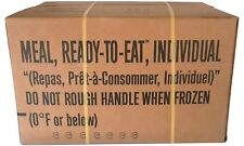 MRE Case A - Military Rations / Camping / Survival Meals / Prepper / Emergency
