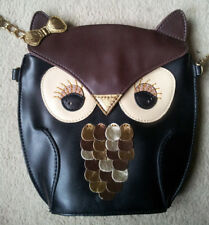 Brand New Accessorize Owl Across Body Bag - Great Gift