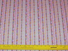 Lucky Charms Stripe Pink Fabric by Fabri-Quilt 100% Cotton Quilting
