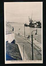Dorset Bournemouth SANDBANKS from the Quay Tuck 1921 RP PPC