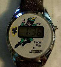 Vintage Nelsonic Peter Pan digital watch