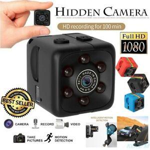 Mini Hidden Spy Camera 1080P Home Security Cam HD DVR Night Vision