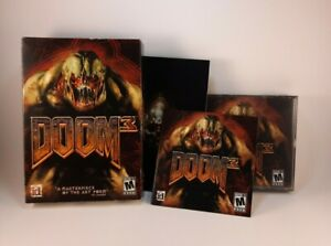 Doom 3 PC First Person Shooter PC Video Game factory sealed in Box.